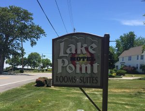 lake point motel sign