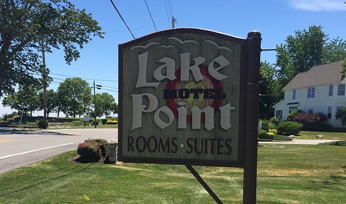 lake point motel entrance
